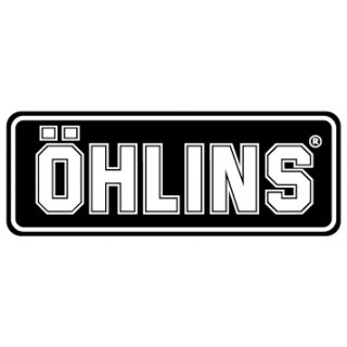 Öhlins_Sticker ?HLINS Black/White  31x72